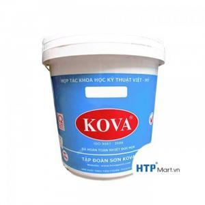 Đại lý bán sơn chống nóng kova màu trắng thùng 20kg giá rẻ tại TPHCM