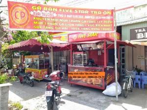 Lắp đặt máy tính tiền tại Vĩnh Long cho quán gà rán - ăn vặt