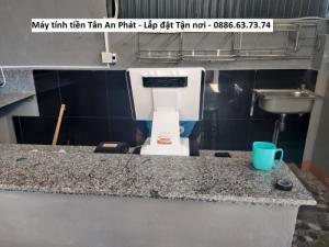 Lắp đặt máy tính tiền cho quán cà phê Bình Định