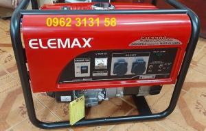 Máy phát điện chạy xăng 2,2kva Elemax 3200ex chính hãng Nhật Bản