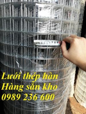 Lưới thép D3a 50x50 mạ kẽm hàng sẵn kho giao hàng toàn quốc