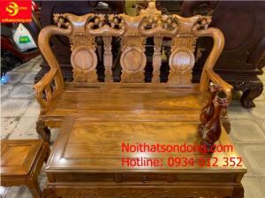 Minh quốc đào sài gòn gỗ lim tay 10, 6 món BBG500