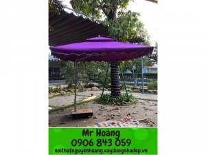 Dù cafe che nắng giá rẽ tại xưởng- nội thất Nguyễn hoàng