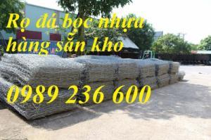 Rọ đá bọc nhựa PVC kích thước 2x1x1, 2x1x0.5 giá rẻ tại Hà Nội