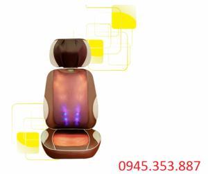Đệm massage hồng ngoại 5d AYS 888A8 Hàn quốc chính hãng bảo hành 5 năm