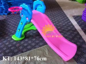Cầu trượt trẻ em cho trường mầm non, công viên, khu vui chơi, sân chơi