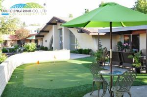 Thiết kế phòng Mini golf, Putting Green tại Gia