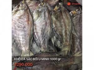 Khô cá sặc bổi Cà Mau 1000 gr