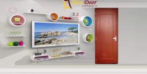 Mẫu cửa nhựa giả gỗ composite uy tín, chất lượng