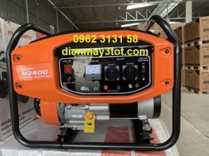 Máy phát điện chạy xăng 3kw Huspanda H3600 giá rẻ cho gia đình