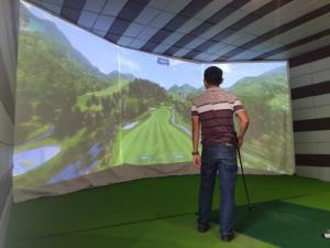 Phòng tập Golf 3D Hàn Quốc