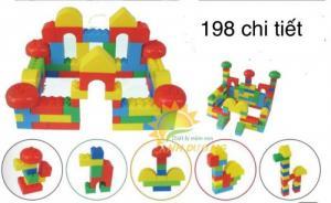 Các bộ lắp ghép nhiều chi tiết dành cho bé yêu vui chơi, phát triển trí tuệ