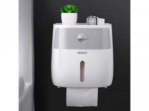 Hộp đựng giấy vệ sinh ecoco 2 ngăn