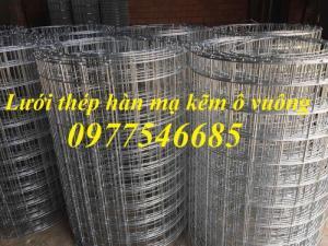 Lưới thép D4A50x50 khổ 1m,1,2m/20m dạng cuộn hàng có sẵn