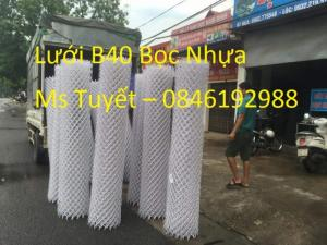Lắp đặt hàng rào B40 Bọc nhựa toàn quốc