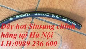 Dây hơi Sinsung, dây hàn đôi Sinsung D6.5, D8, D9.5,D13, D13, D16, D19, D25..