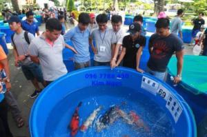 Bồn tròn 2000 lít nuôi cá cảnh
