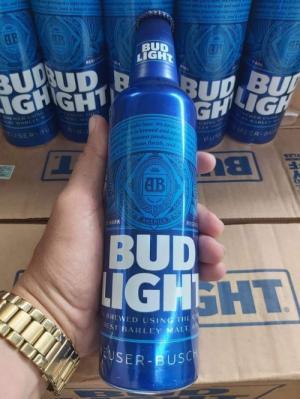 Bia Bud Light 1.200.000đ, 473ml, 24 chai, nhập khẩu từ Mỹ.