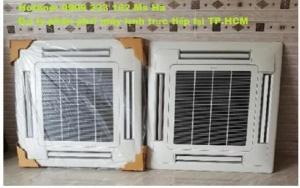 Máy lạnh âm trần Daikin FFF kiểu dáng thanh lịch thổi 4 hướng .