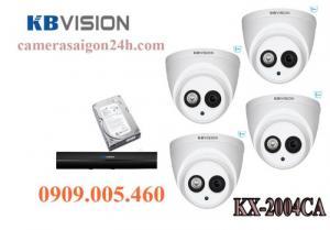 Trọn bộ 4 camera quan sát có ghi âm KBVISION