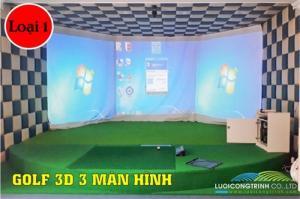 Phòng Golf 3D nhập khẩu 100% Hàn Quốc