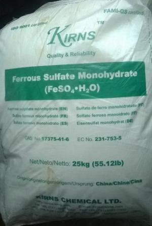 Sắt (II) Sulfate FeSO4.7H2O/ FeSO4.H2O