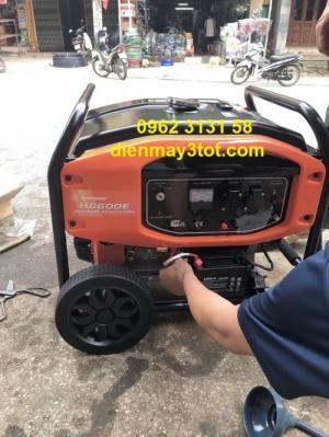 Máy phát điện chạy xăng 5kw Huspanda HD6600