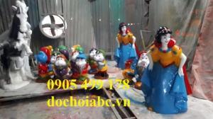 Bộ tượng cho các trường mầm non, đồ chơi vườn cổ tích mầm non