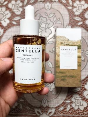 Serum dưỡng rau má Madagasca Centella Ampoule Skin 1004 xách tay Hàn Quốc