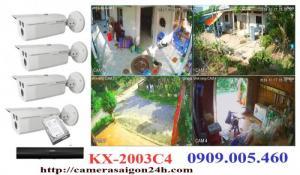 Camera quan sát KBVISION trọn bộ