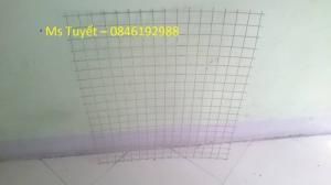 Lưới thép hàn mạ kẽm D1, D1.5, D2  mắt 25x25, 50x50 hàng có sẵn
