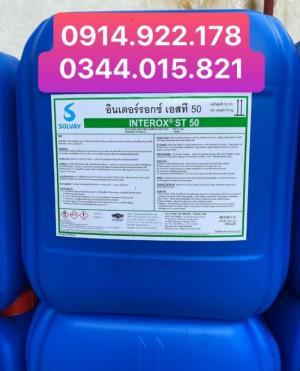Oxy Già Hydrogen peroxide 50% H2O2 trong thủy sản