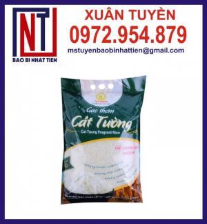 Bao bì đựng gạo 5kg, 10kg ghép màng