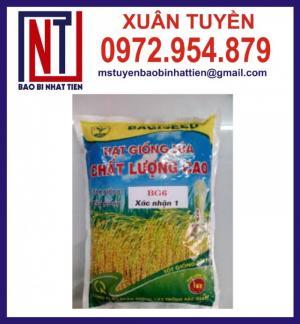 Chuyên sản xuất túi đựng lúa giống, hạt giống