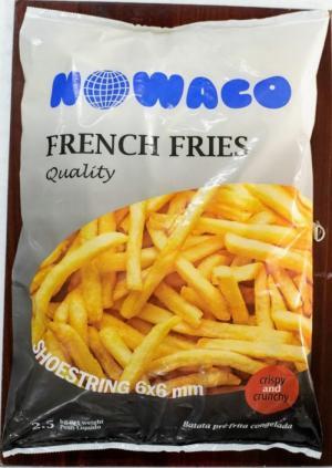 Khoai tây cọng/ khoai tây chiên/ khoai tây Nowaco