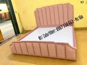 Báo giá mẫu giường có bọc nệm đầu giường rẻ đẹp - uy tín - chất lượng