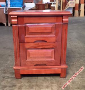 Táp đầu giường gỗ xoan đào gỗ tự nhiên