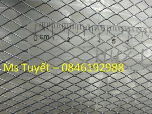 Lưới thép tô tường chống nứt dây 0.4li, mắt 6x12mm, mắt 10x20mm