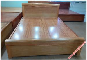 Giường giá rẻ gỗ đinh hương dát phản 1m6