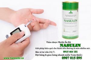 Hạt Methi Ấn Độ Nasulin giải pháp trị tiểu đường, mỡ máu hiệu quả