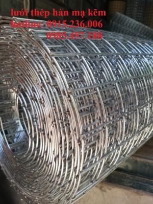 Lưới Thép Hàn D3 A 50X50 Khổ 1Mx15M, 1,2x15m, 1,5x15m Giá tốt, hàng sẵn kho