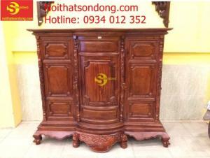 Nơi bán tủ thờ gỗ cẩm lai chất lượng
