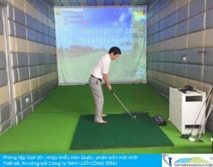 Tư vấn và báo giá phòng Golf 3D miễn phí
