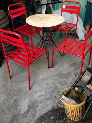 Bộ bàn ghế sắt giá rẻ