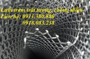 Lưới trám trát tường ô 6x12, 10x20,... hàng có sẵn tại kho