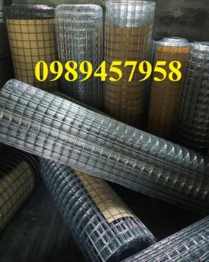 Lưới thép D3 ô 50x50 khổ 1m, 1,2m, 1,5 x 20m/cuộn có sẵn