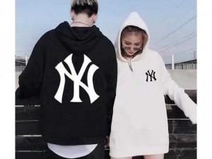 Áo khoác Hoodie NY trắng đen TN MÃ SỐ: 1