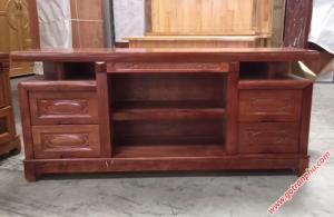 Kệ tivi đẹp gỗ xoan đào 1m6
