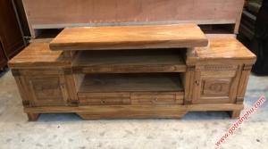Kệ tivi giá rẻ gỗ hương xám 1m8