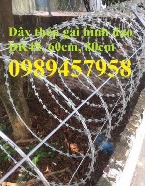 Dây thép gai inox304, dây kẽm lam hàng rào tại Sài Gòn